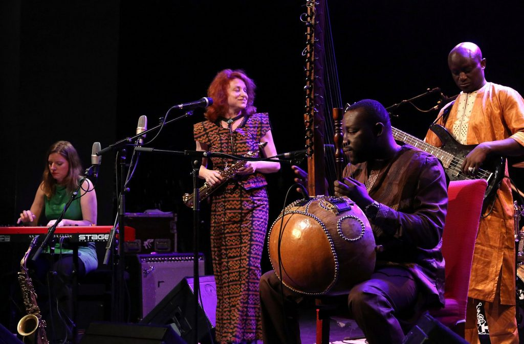 Edith Lettner and the African Jazz Spirit in concert, 2014