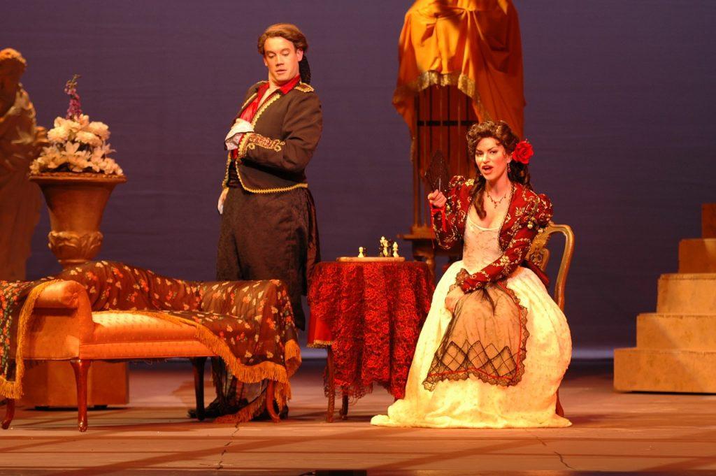 Scene from the Barber of Seville