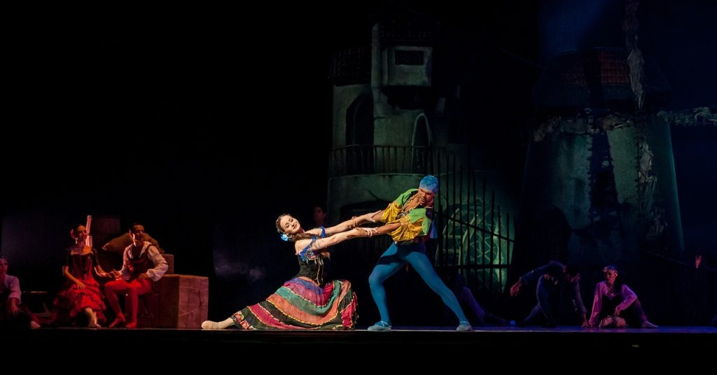 Scene from Don Quixote