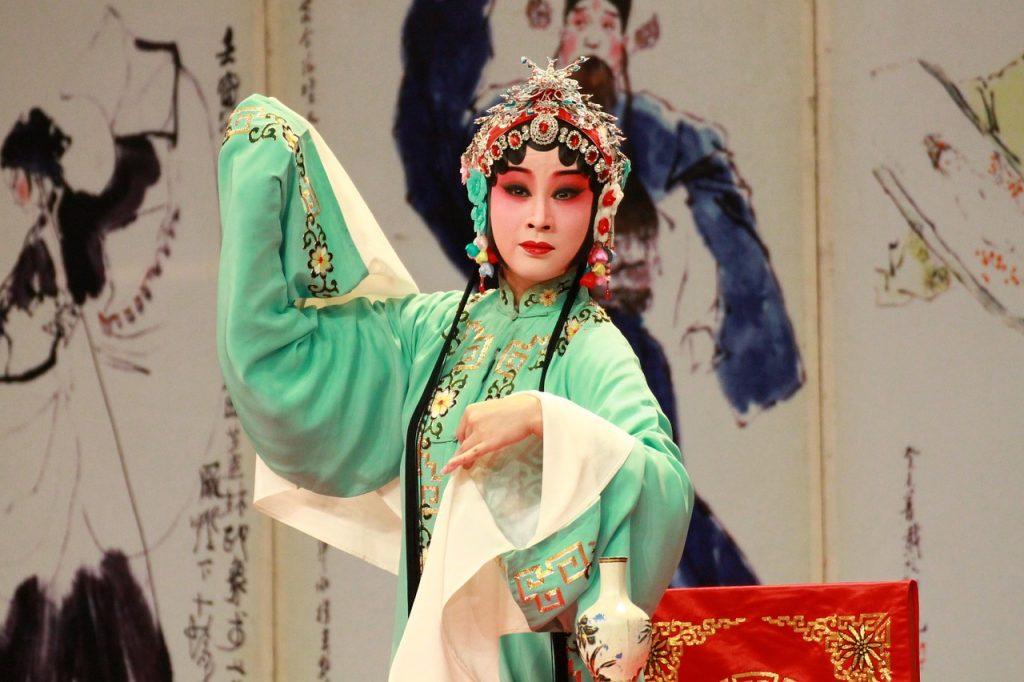 Scene from the Kunqu Opera