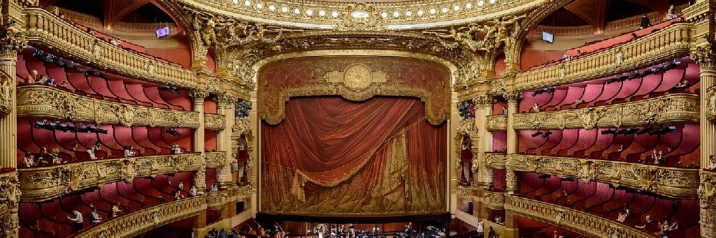 The prestigious Paris Opera